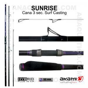 CANA AKAMI SUNRISE 3 SEC. 4,20MT - 100/250GR - HYBRID