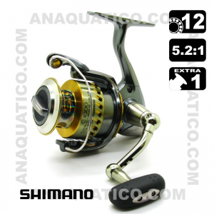 SHIMANO STELLA C3000 12+1 BB  / R5.2:1 Carreto drag frontal