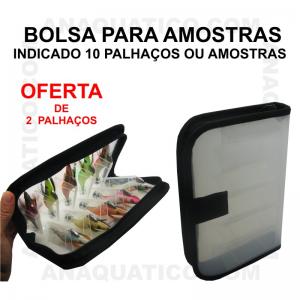 BOLSA P/ AMOSTRAS E PLHAÇOS 24 X 18 X 4 CM