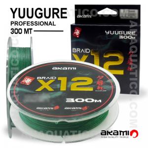 LINHA AKAMI YUUGURE X12 PE PROFESSIONAL 300 Mt