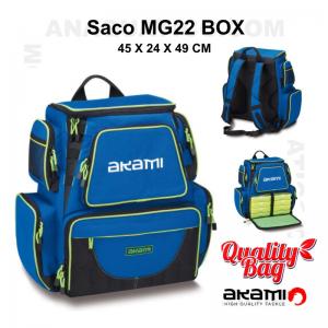 MOCHILA AKAMI MG 22 BOX - 45 X 24 X 49 CM