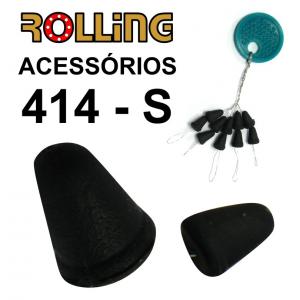 ROLLING TRAVÃO EM BORRACHA NºS  10 PCS
