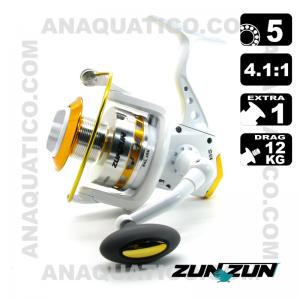 CARRETO ZUN ZUN QR 65 BB 5 / Drag 12Kg / R 4.1:1