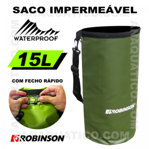 ROBINSON SACO IMPERMEÁVEL 15L