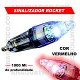 BULOX SINALIZADOR ROCKET COR VERMELHO
