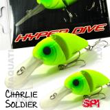 SPI CHARLIE SOLDIER FLOAT. 7CM  / 15GR MATTE LEMON
