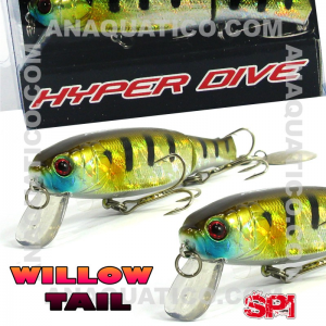 SPI WILLOW TAIL FLOAT. 11CM  / 15GR MATTE BLUEBACK