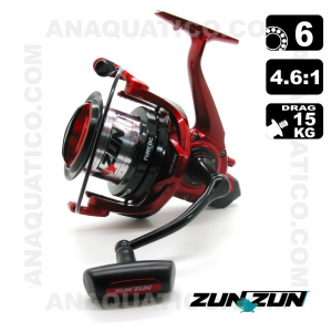 CARRETO ZUN ZUN FURY DC BB 6 / Drag 15Kg / R 4.6:1
