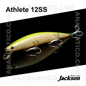 AMOSTRA JACKSON ATHLETE 12SS 12CM / 21GR SLOW SINKING PCO