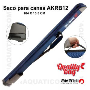 SACO PARA CANAS RÍGIDO AKAMI  AKRB12 - 164 X 15.5 cm