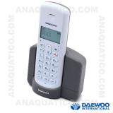 Telefone S/ Fios Branco/Cinza DAWEOO