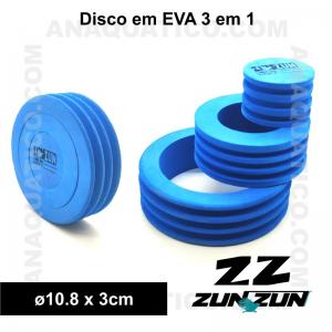 ZUN ZUN DSICO EM EVA 3 EM 1 - ø10.8 X 3 CM - 1 PCS.
