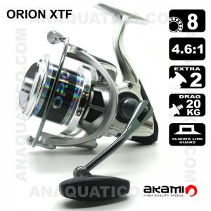 CARRETO AKAMI ORION XTF BB 8 / Drag 20Kg / R 4.6:1