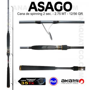 CANA AKAMI ASAGO 2.75MT - 12/56GR