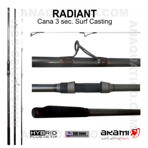CANA AKAMI RADIANT 3 SEC. 4,20MT - 100/250GR - HYBRID