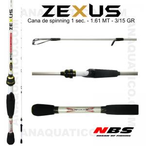 NBS ZEXUS X7 1 SEC. 1.61MT - 3/15GR - MEDIUM