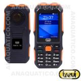 Telemóvel Anti-choque IP68 preto/laranja TREVI