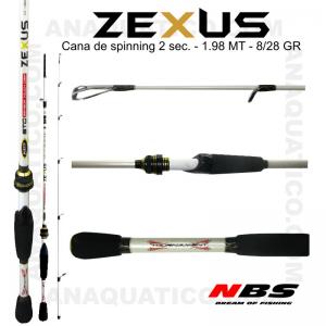 NBS ZEXUS X5 2 SEC. 1.98MT - 8/28GR - FAST MEDIUM HEAVY