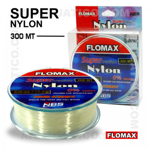 LINHA FLOMAX SUPER NYLON 300Mt