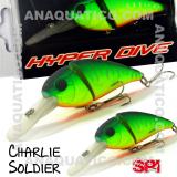 SPI CHARLIE SOLDIER FLOAT. 7CM  / 15GR MATTE CHART TIGER