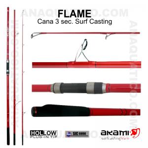 CANA AKAMI FLAME 3 SEC. 4,20MT - 100/250GR - HOLLOW