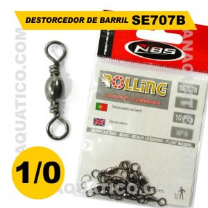 ROLLING DESTORCEDOR SE707B Nº1/0 COR PRETA