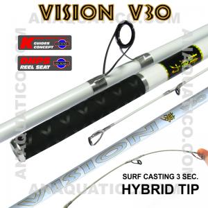 NBS VISION V30 SURF 3SEC. 4.5MT - 100/200GR - HÍBRIDA