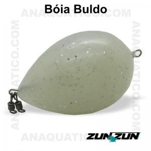 ZUN ZUN BÓIA BULDO BRANCA C/ GLITER  50 GR