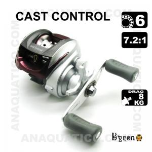 CARRETO BYRON CAST CONTROL BB 6 / Drag 8Kg / R 7.2:1