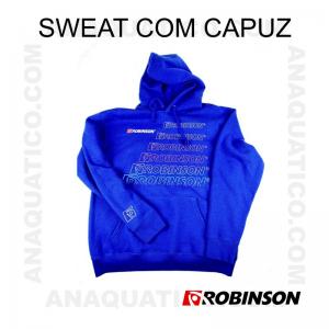 SWEATSHIRT COM CAPUZ ROBINSON