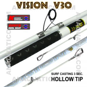NBS VISION V30 SURF 3SEC. 4.5MT - 100/200GR - TUBULAR
