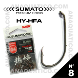 SUMATO HY-HFA Nº 8 COR PRETA
