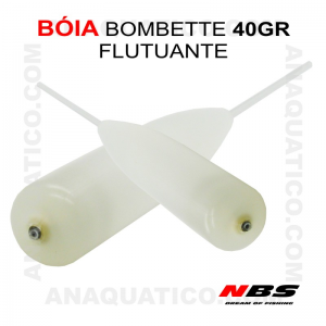 BÓIA BOMBETTE FLUTUANTE NBS 40 GR