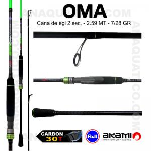 CANA AKAMI OMA  2.50MT - 7/28GR