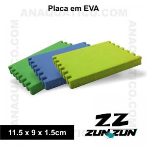 ZUN ZUN PLACA EM EVA 11.5 X 9 X 1.5 CM  - 1 PCS.