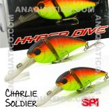 SPI CHARLIE SOLDIER FLOAT. 7CM  / 15GR MATTE ORANGE TIGER