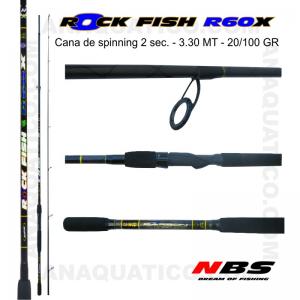 CANA NBS ROCK FISH R60X 3.30MT - 20/100GR