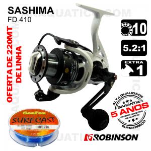 CARRETO ROBINSON SASHIMA BB 9+1 / Drag 6.2Kg / R 5.2:1