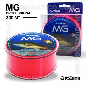 LINHA AKAMI MG PROFESSIONAL 0,300mm / 11,40kg / 300Mt