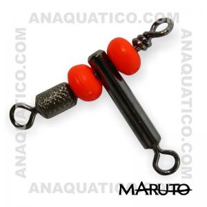 MARUTO 611 Nº L BLACK NICKEL C/ 10 PCS