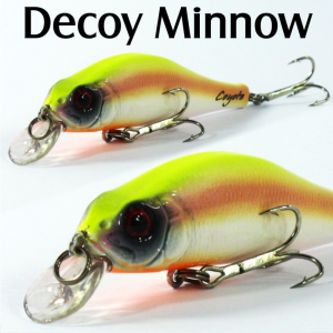 COYOTE DECOY MINNOW 8CM / 8.1GR FLOAT. 004
