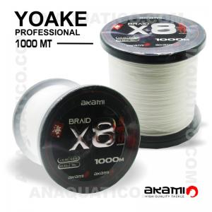 LINHA AKAMI YOAKE X8 PE PROFESSIONAL 1000 Mt