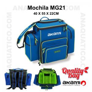MOCHILA AKAMI MG 21 - 40 X 55 X 22 CM