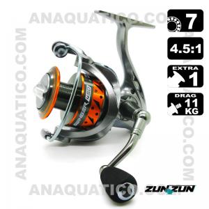 CARRETO ZUN ZUN SWINGER 450 BB 7 / Drag 11Kg / R 5.0:1