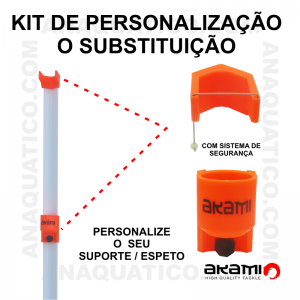 KIT DE PERSUNALIZA / SUBSTITUIÇÃO AKAMI